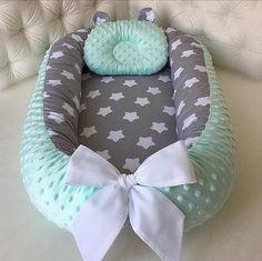 Babynest for Newborn Sleep bed Baby nest co sleeper baby image 6 Baby Nest Pattern, Baby Nest Bed, Snuggle Nest, Co Sleeper, Baby Pillows, Baby Crib Bedding, Baby Room Decor, Room Baby, Organic Baby