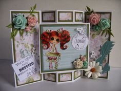 Joy Crafts: Tutorial fold / stand directory