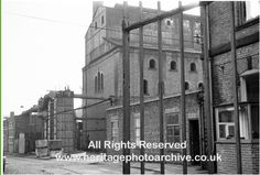 Radcliffe gas works, main retort house 1967