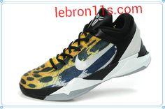 Lebron11s.com Wholesale Kob 7 VII,Nike Kobes,Kobe Shoes 2012 Leopard Yellow