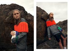 Seaside Grunge Photography : Rocky Road