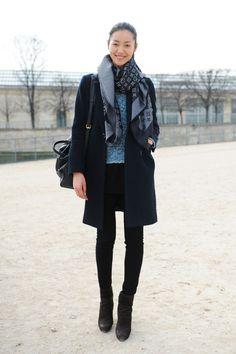 Sofia Coppola for Louis Vuitton Suede Asphalt Handbag with black, and LV Scarf.