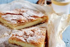 Amateur Cook Professional Eater - Greek recipes cooked again and again: Serres Bougatsa Greek Sweets, Greek Desserts, Greek Recipes, Bougatsa Recipe, Greek Cookies, Greek Pastries, Eat Greek, Greek Dishes, Sweet Pie