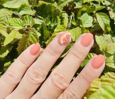 Le Nail Art Agrumes #citrus #orange #summer #fresh