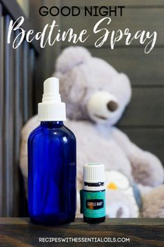There are few things more precious to parents than bedtime. If your home needs more peace before bed, then our Good Night Bedtime Spray should be the next recipe you try. | RecipeswithEssentialOils.com