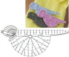 Solo esquemas y diseños de crochet: animales