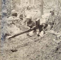 Finnish 20mm M/39 AT-rifle in position during continuation war. Its size made transportation difficult, so it was nicknamed Norsupyssy (Elephant Gun)