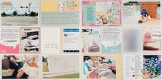 y a little catch-up, so here are the sketches for my June Project Life layout: