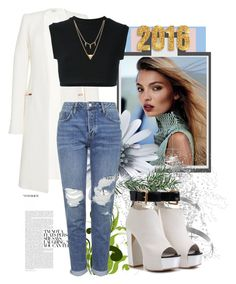 """""""Untitled #41"""" by pirija44 ❤ liked on Polyvore featuring Thierry Mugler, adidas Originals, Topshop and Edge of Ember"""