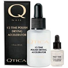 Qtica Half Time Polish Drying Accelerator - 1 oz with .25 oz Bottle Set * Learn more by visiting the image link. (This is an affiliate link) #FootHandNailCare
