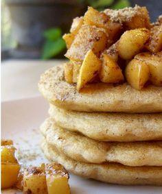 Easy Whole Wheat Vegan Pancakes or Waffles