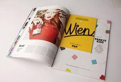 TAP Magazine on Editorial Design Served