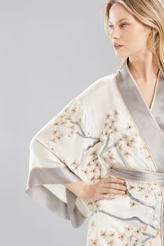 d46ff97c08 Gorgeous petals on silky lace. Shop the new Josie Natori Petals Wrap at  natori.