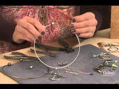 Industrial Chic Choker tutorial with Susan Lenart Kazmer - Progetto di collana di Susan Lenart Kazmer