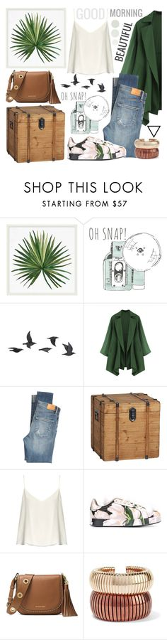 """""""Good morning"""" by makimpm ❤ liked on Polyvore featuring Pottery Barn, Jayson Home, Citizens of Humanity, Raey, Dolce&Gabbana, MICHAEL Michael Kors and Rosantica"""