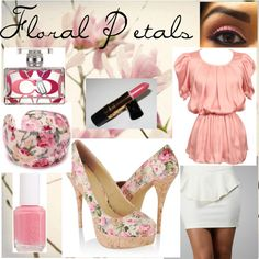 Floral Petals, created on Polyvore