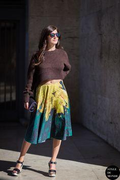 Valentina Siragusa Street Style Street Fashion Streetsnaps by STYLEDUMONDE