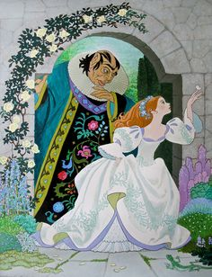 Beauty and the Beast, illustrated by Sheilah Beckett