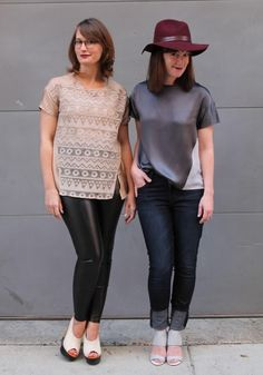Fresh off the PDF printer we'dlike to introduce you to our newest pattern:The Geometry Top!This little labor of love is loose, easy, and most importantly pairs perfectly with jeans so it's great for your everyday wardrobe. We've played with style lines to create a pattern that is both...