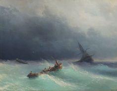 Ivan Konstantinovic Aivazovsky http://www.canvastar.com/product_info_n.php?products_id=5656 Eserin Adı: Denizde Fırtına Tarih: 1873