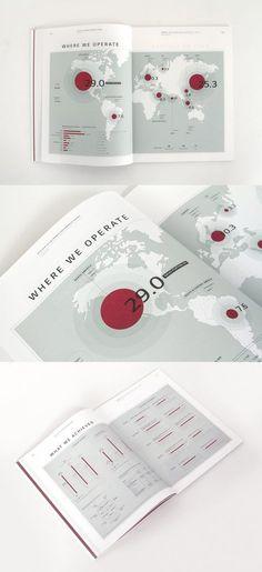 Infographic with shockwave effect Brosure Design, Buch Design, Book Design Layout, Chart Design, City Layout, Web Layout, Editorial Layout, Editorial Design, Reflective Journal