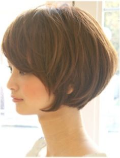 Pin on ヘア Pin on ヘア Haircuts For Medium Length Hair, Chin Length Hair, Bob Haircut With Bangs, Haircuts For Fine Hair, Short Bob Hairstyles, Hairstyles Haircuts, Short Hair Cuts, Cool Hairstyles, Korean Hairstyles