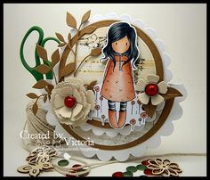 Poppy Fields ~ Gorjuss girl
