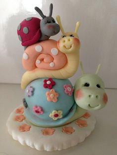 Fondant Animals, Clay Animals, Themed Birthday Cakes, Birthday Cake Toppers, Fondant Cake Toppers, Cupcake Toppers, Polymer Clay Creations, Polymer Clay Crafts, Marzipan