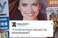 Hayley Atwell Has Called Out Bad Photoshopping In The Most Perfect Way
