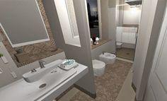 Ecco i bagni di UVE Rooms & Wine Bar a La Morra nelle Langhe Bathrooms of UVE Rooms & Wine Bar in La Morra in Langhe.