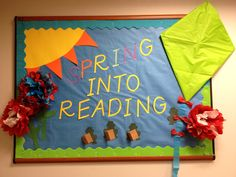 spring bulletin boards for kindergarten - Google Search