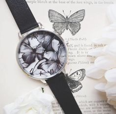 White Butterfly, Butterfly Design, Feel Unique, Olivia Burton, Ss16, Perfect Match, Monochrome, Woodland, Butterflies