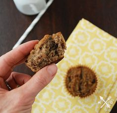 Multiply Delicious- The Food | Banana Muffins (with Coconut Flour)