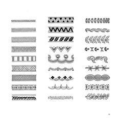 mehndi patterns' details