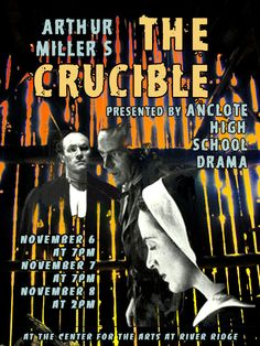 "Lobby, internal mail, and direct email flier Anclote HS Drama Production 2009-10 season 8.5"" x 11"""