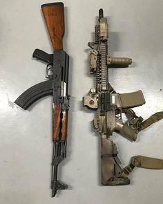 """whiskey-gunpowder: """" Left or right? Nice weapons """""""