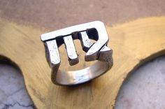 Made-To-Order Virgo Zodiac Sign Sterling Silver by TevalouJewelry