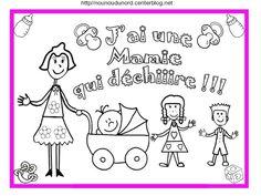 ***********  **********   ********** J'ai une mamie qui déchire età colorieret en couleur +image en couleur bonne fête mamie Imprimer les fichierscliquez :.acrobat.com/  Si vous voulezimprimer ...