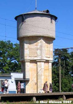 Keila water tower (railway), Estonia