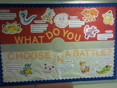 Pokemon Conflict Resolution Bulletin Board