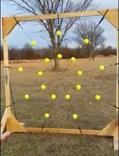 I'm thinking that later this summer we need to build 5his for bow practice.