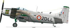 Armée de l'Air Skyraider. Algerian War