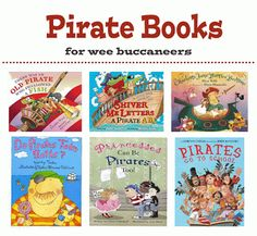 "Arrgh! Favorite pirate books for wee buccaneers! A favorite not on this list is ""How I became a Pirate"" By Melinda Long"
