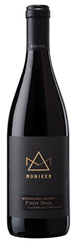 2013 Moniker Estates Mendocino County Pinot Noir 750 ml Wine -- See this great product.