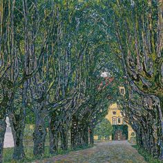 Avenue in Schloss Kammer Park, 1912, Österreichische Galerie Belvedere, Vienna - Gustav Klimt - Wikipedia, the free encyclopedia