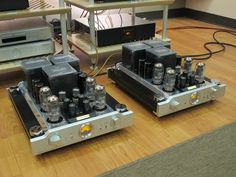 Audio Space Reference 3 amplifiers