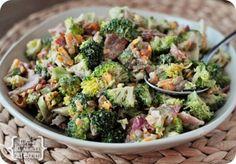 melskitchencafe.com: The Best Broccoli Salad