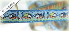 Taucht ein in die faszinierende Unterwasserwelt von Cala Mario. Ein Fisch kommt selten allein!   Reines Polyester, zertifiziert nach ÖkoTex 100 d...