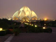 Important Architecture images for NATA exam- Lotus temple, Delhi India