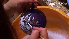 Bombki choinkowe - Hand Made Christmas Balls - Kościółek